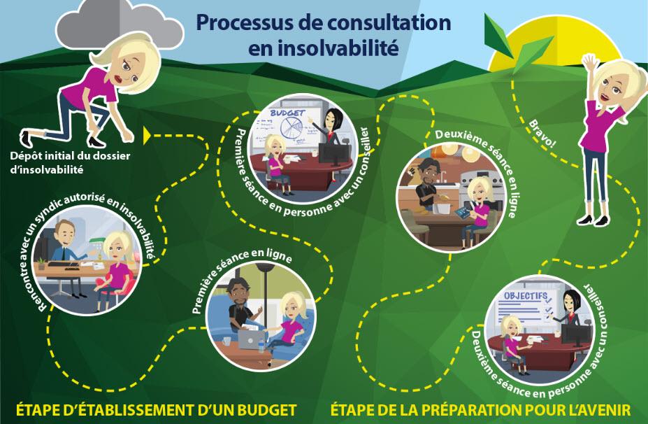 processus de consultation en insolvabilité